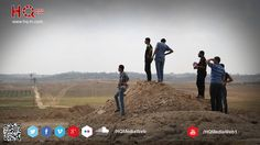 Eastern border ..  Palestinian youths watching the eastern border of the Gaza Strip on the first day of the truce took effect after that have returned to their destroyed homes .. ‪#‎ICC4Israel‬ ‪#‎gaza‬ ‪#‎GazaUnderAttack‬ ‪#‎AJAGAZA‬  ‫#‏غزة_تقاوم‬ ‫#‏غزة_تحت_القصف‬ ‫#‏غزة_إلى_أين‬ ‫#‏غزة‬  website : www.hq-m.com