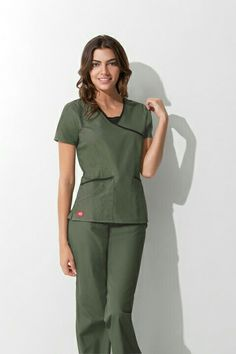 66bfe147b91 Work Uniforms, Nurse Uniforms, Healthcare Uniforms, Green Scrubs, Scrubs  Uniform, Medical