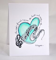 Music Festival Blues by Benzi - Cards and Paper Crafts at Splitcoaststampers
