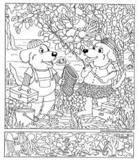 hidden pictures fishing - Printable Hidden Pictures For Kids