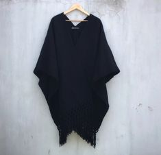 Poncho Eclipse Mexican Design, Product Page, Boho, Kimono Top, Bodysuit, Women, Fashion, Fair Trade, Ponchos