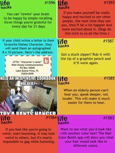 ☺  ☻. ☺ Life Hacks List, Hack My Life, 1000 Life Hacks, Useful Life Hacks, Simple Life Hacks, Home Hacks, College Life, Cleaning Hacks, Lifehacks