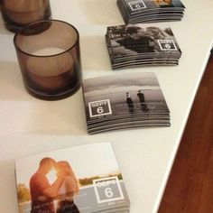 #DIY: Save the Date Magnets | Stinky Love www.stinky-love.com | #wedding #DIY…