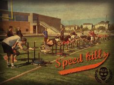 Our dedication to improving sprint specific strength though...