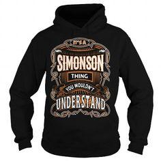 Awesome Tee SIMONSON, SIMONSONYear, SIMONSONBirthday, SIMONSONHoodie, SIMONSONName, SIMONSONHoodies T shirts