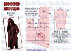 18 Ideas sewing easy dress doll clothes - Image 11 of 24 Coat Patterns, Dress Sewing Patterns, Clothing Patterns, Sewing Hacks, Sewing Tutorials, Sewing Projects, Fashion Sewing, Diy Fashion, Work Fashion
