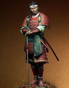 Japanese Ronin, XVI sec. toy soldier.