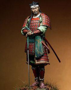 Japanese Ronin, XVI sec. toy soldier.