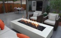 Contemporary Outdoor Fire Pit