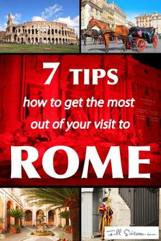7 tips how to get the most out of your trip to Rome. Do you really want to spend most of your time in Rome queuing? Find out about some common travel mistakes, avoid them and get more out of your trip to Rome than 95% other travellers do...