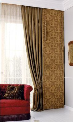 Window Treatment Ideas - A visual dictionary of a lot of the most effective offered window therapy concepts for your house. Balloon Curtains, Drapes Curtains, Valances, Drapery, Curtain Styles, Curtain Designs, Window Coverings, Window Treatments, Honeycomb Shades
