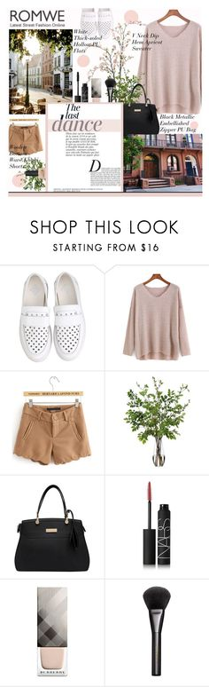 """""""Без названия #215"""" by alla ❤ liked on Polyvore featuring Diane James, NARS Cosmetics, Burberry, Gucci and Anja"""