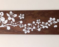 Long-rusted-Blossom steel screen