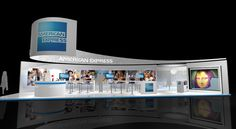 AMERICAN EXPRESS by Cuong T Nguyen, via Behance Stand Design, Booth Design, Temporary Architecture, Exhibitions, Photo Wall, Behance, Display, Inspired, American