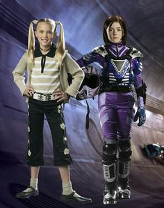 Gerti Giggles and Demetra in Spy Kids 3-D: Game Over