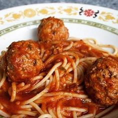Family Spaghetti and Meatballs
