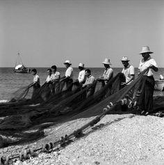 1960 ~ Fishermen in Thassos island