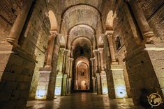 Inside the Monastery of Sant Pere deRodes,Spain