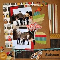 A Project by hogansmom from our Scrapbooking Gallery originally submitted 10/23/12 at 08:57 AM