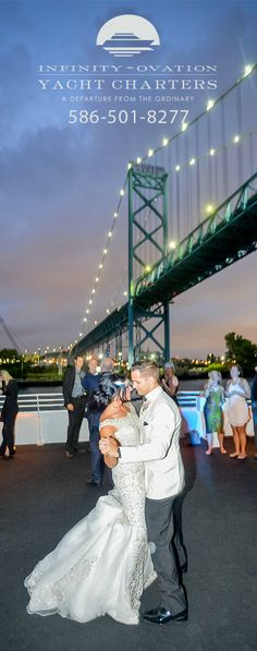 290 Best Real Yacht Weddings Images Beautiful Couple Michigan