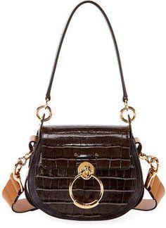 Calf Leather, Leather Shoulder Bag, Shoulder Strap, Michael Kors Ring, Chloe Handbags, Crocodile, Fashion Bags, Calves, Perfume Bottles