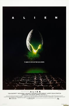 Alien - A ground-breaking Sci-Fi thriller starring Sigourney Weaver, directed by Ridley Scott.