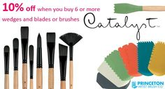 Princeton Catalyst Wedges, Blades & #Brushes