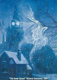 The Snow Queen by David Delamare