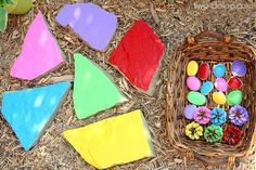Outdoor Color Matching For Toddlers