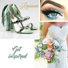 If you are a turquoise lover, you can choose it for your wedding. Also if you are a fashionista, you'll amaze with your unique shoes Unique Shoes, Wedding Themes, Wedding Details, Wedding Inspiration, Make Up, Turquoise, Amazing, Hair, Beautiful