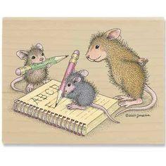 Mice Penmanship - HMJR1065 - The Official House-Mouse Designs® Web Site