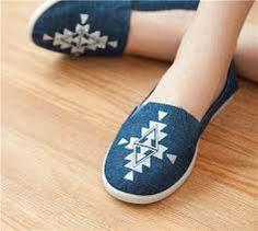 shoes, aztec, love, blue, white, want, smart, summer, comfortable, wooden floor, pattern