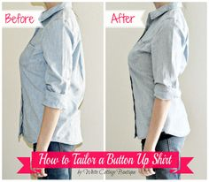 How to Tailor A Shirt for a Perfect Fit!