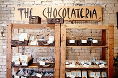 Visit our friends at The Chocolateria for all things chocolate!