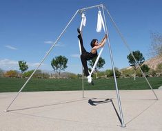 The 13 Ft Quot Backyard Quot Freestanding Rig Is Ideal For Single