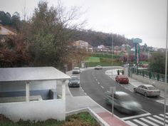 Este proyecto consistió en la realización de varios renders con fotocomposición que mostraban el aspecto final de la humanización de un tramo de la Carretera do Porto en la Parroquia de Beade del Municipio de Vigo, Pontevedra, para una ingeniería de la misma ciudad.