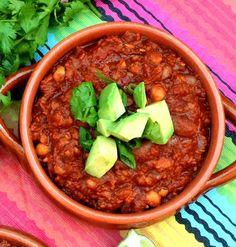 12 Spicy Vegetarian Tex-Mex Recipes That Indians Will Love- Vegan Bean Chilli
