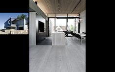 Private residence in Denmark by  Arkitema - Dinesen Douglas floor