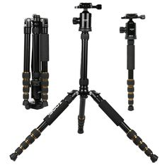 82.88$  Watch now - http://alihxc.worldwells.pw/go.php?t=32709139155 - ZOMEI Z699 Magnesium Aluminum Alloy SLR Tripod With Ball Head Compact Reflexed Pocket Travel Monopod For Canon Nikon Sony Camera