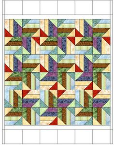 Thank you, Bonnie, for a prompt reply to my request. Bonnie granted permission for me to post my measurements and etc. for the quilt . The...