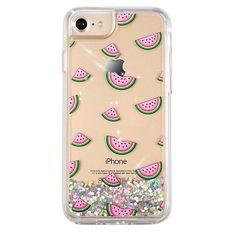 Watermelon Dual Glitter iPhone Case