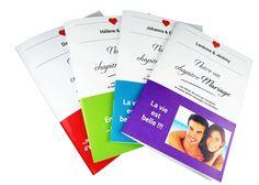 """Livre d'or de mariage originaux : des carnets """"phrases à compléter"""""""