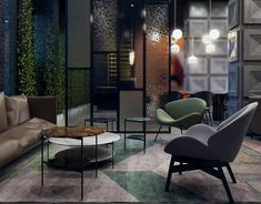 Przegorzaly Castle Hotel Room, Krakow, Poland on Behance Sopot Poland, Krakow Poland, Architectural Design Studio, Architecture Design, Hills Resort, Living Area, Living Room, Hotel Lobby, Drawing Room