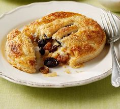 This fun spin on the traditional Lancashire fruit cakes uses leftover marzipan to make irresistible individual pies
