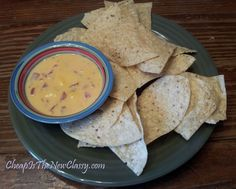 Queso Recipe With Red Gold Tomatoes and Green Chilies