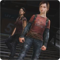 The Last of Us--- Tess and Ellie. I want to play this game so bad