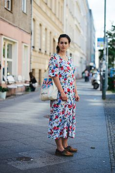 The Locals in Berlin - Street style in Berlin, Summer 2012 The Locals, Kimono Top, Street Style, Style Inspiration, My Style, Floral, Flowers, Pattern, Berlin Street