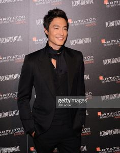 Fotografia de notícias : Daniel Henney arrives at Hamilton Behind The...