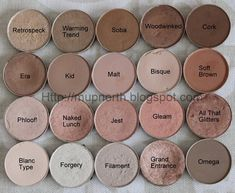 MAC Neutrals by Kim R