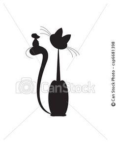 Banco de ilustração - gato, rato - estoque de ilustração, ilustrações royalty free, banco de ícone clip arte, banco de ícones clip arte, fotos EPS, fotos, gráfico, gráficos, desenho, desenhos, imagem vetorial, arte vetor EPS.